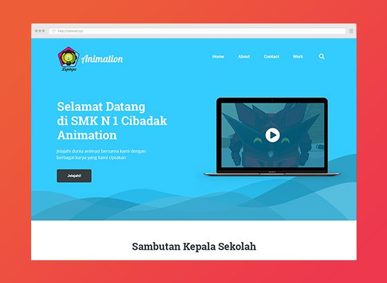 PN Animation - Design dan HTML
