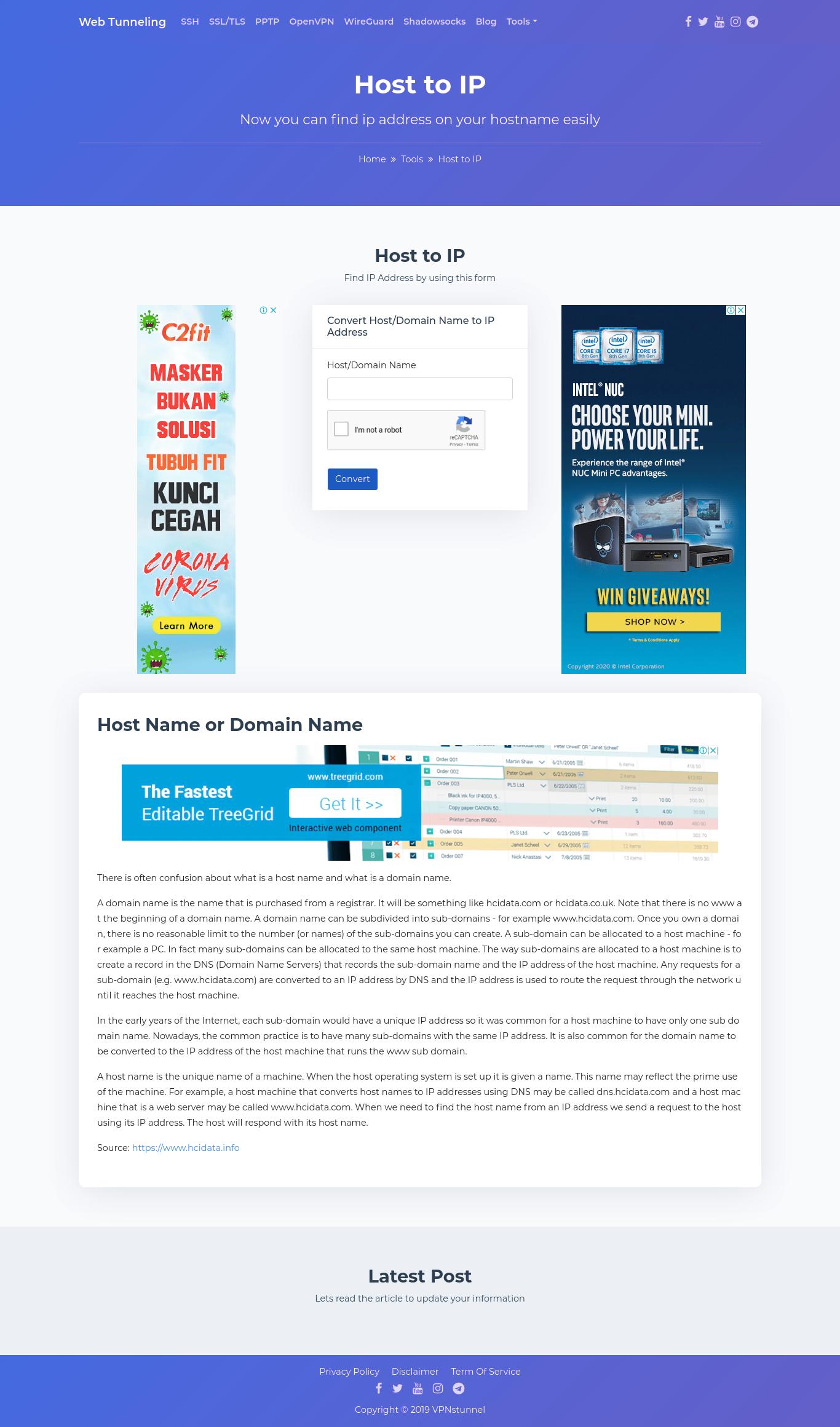 SSH Fast - Web Tunneling