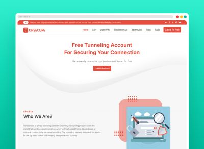 Tonsecure - Perfect Free Tunneling Account